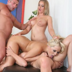 Alexis Texas Threesome